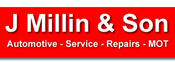 J Millin and Son, Witney garage services